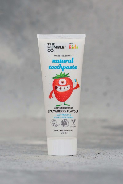 HUMBLE CO - Humble Toothpaste For Kids Strawberry - 75 ML - Çocuk