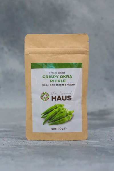 THE SNACK HAUS - The Snack Haus Crispy Okra Pickle12 Gr